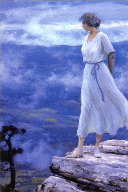 the hilltop_1918-Charles Courtney Curran