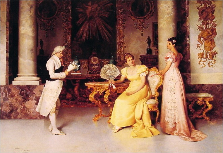 The Suitor-Francesco Beda (italian painter)