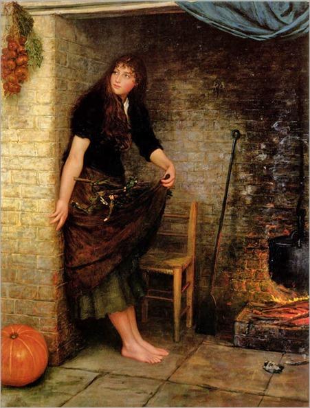 Valentine Cameron Prinsep (1838-1904)- Cinderella