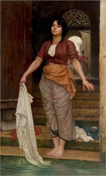 Valentine Cameron Prinsep (1838-1904) - In a Street in Venice