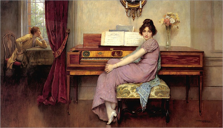 William Arthur Breakspeare (1855-1914)- The Reluctant Pianist