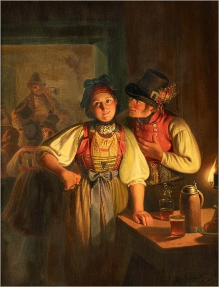 2.CARL FRIEDRICH MORITZ MULLER (GERMAN,1807-1865)