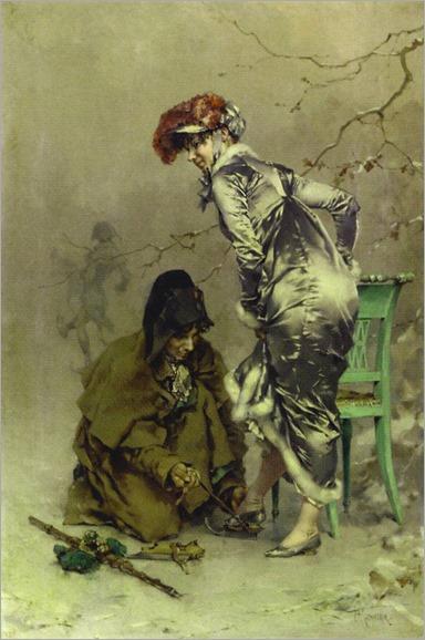 a winter escapade-Frederik Hendrik Kaemmerer