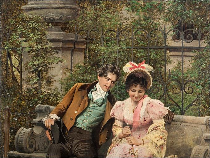 acquaintance by Johann Hamza - 1885