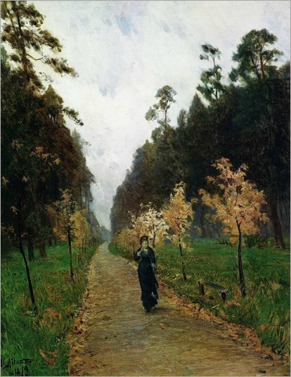 Autumn Day Sokolniki -1879 - Isaac Levitan (russian painter)