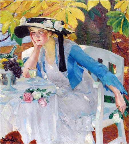 Autumn Magic - 1912 - Edward Cucuel (american painter)
