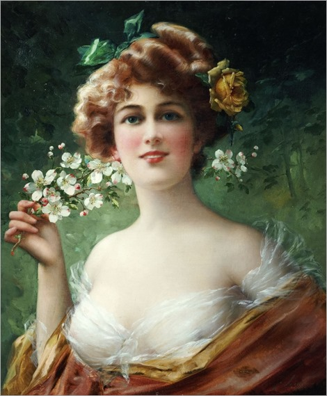 Blossoming Beauty (c.1910). Émile Vernon (French, 1872-1919)