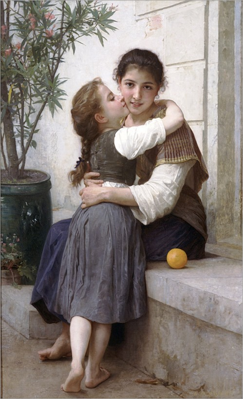 calinerie by William-Adolphe Bouguereau