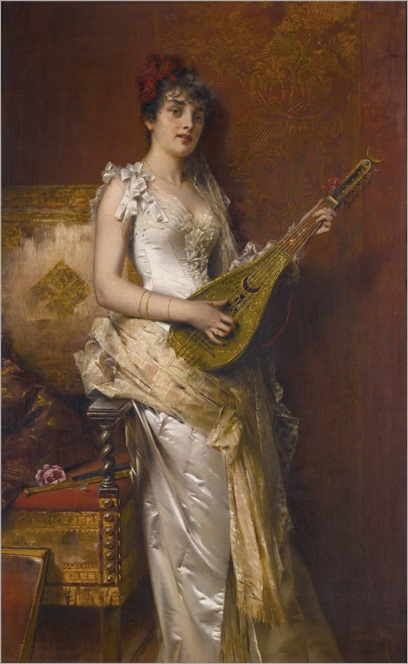 Conrad Kiesel (1846-1921) Daydreams