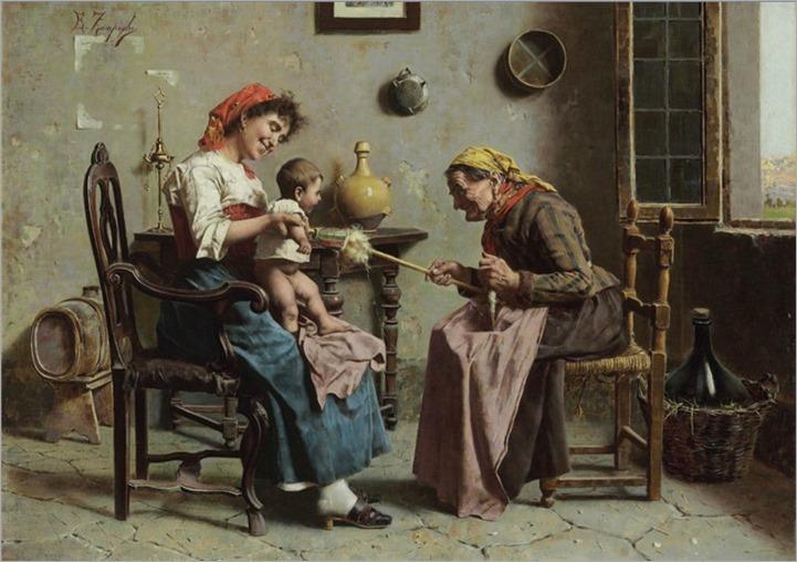 Eugenio Zampighi-Playtime