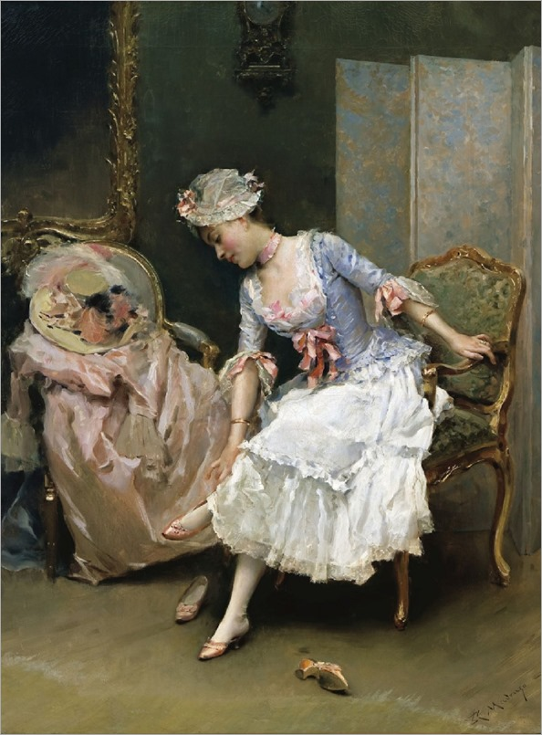 her-new-shoes-Raimundo-de-Madrazo (2)