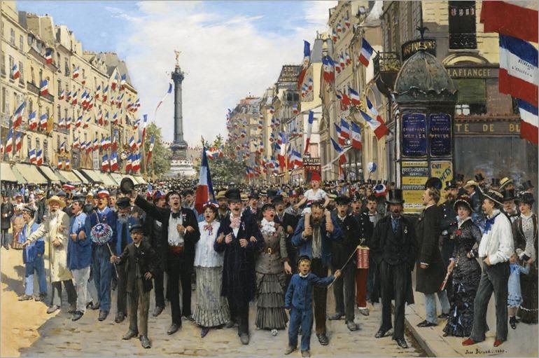 La Marseillaise - Jean Beraud (french painter)