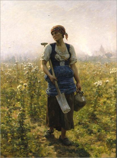 Le Matin _ Jules-Adolphe Breton - 1888
