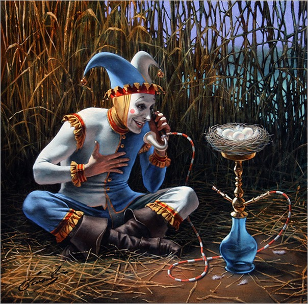 Talk to the Future - Michael Cheval