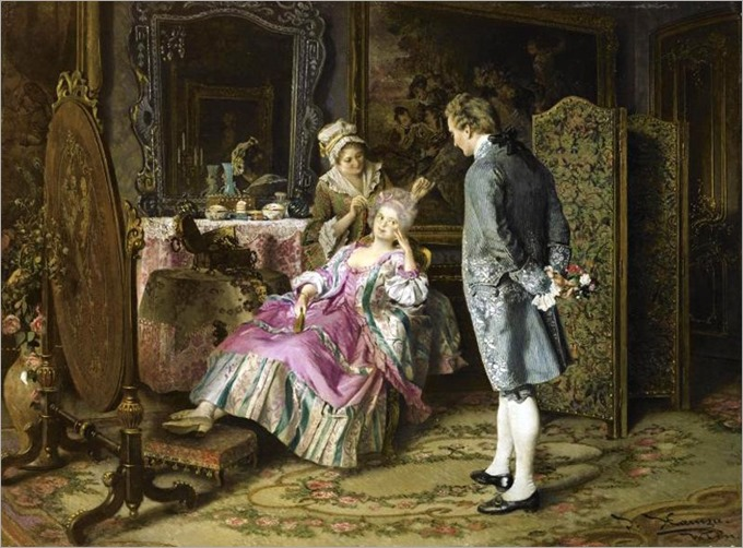 the suitor by Johann Hamza