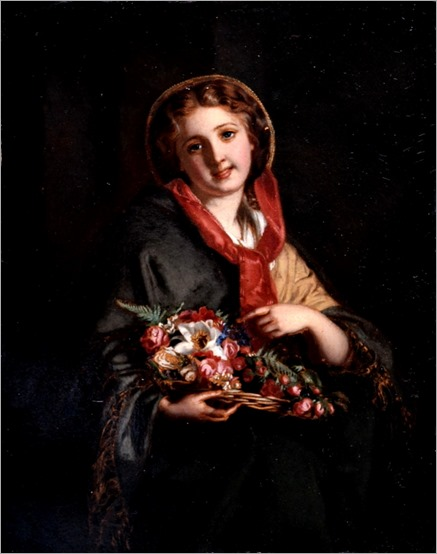a london flower girl_Samuel Baruch Halle