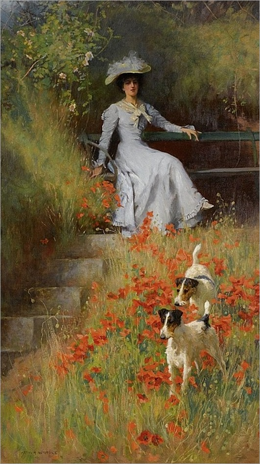 ARTHUR WARDLE (british, 1864 - 1949) WITH ROOM TO RUN