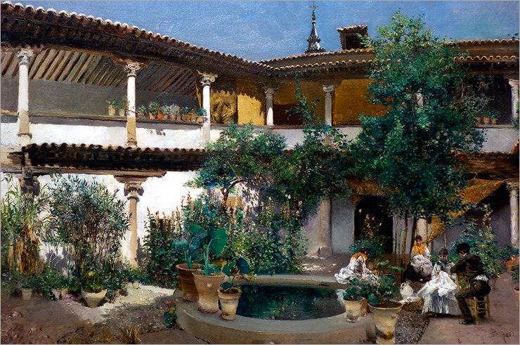 BLUM_Robert_Spanish_Courtyard_1883
