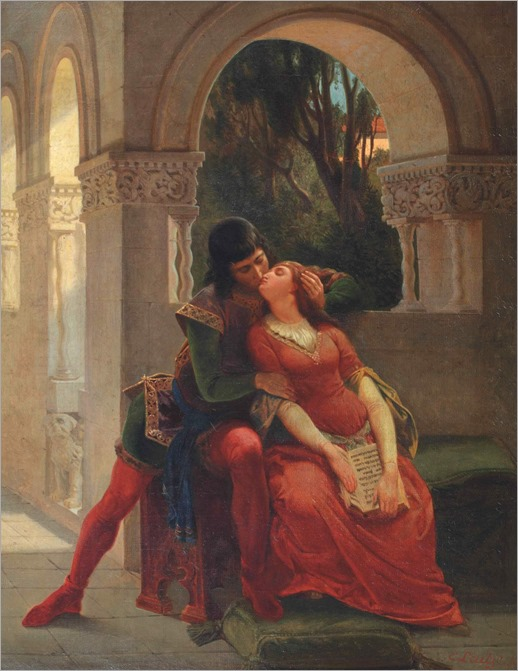 Emanuel Gottlieb Leutze (1816 - 1868) - The kiss