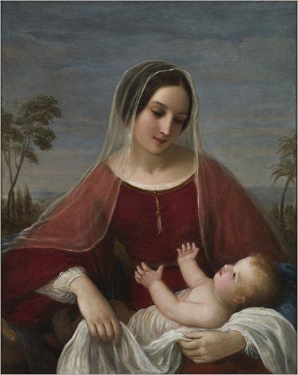 Natale-Schiavoni-Madonna-con-bambino-1842