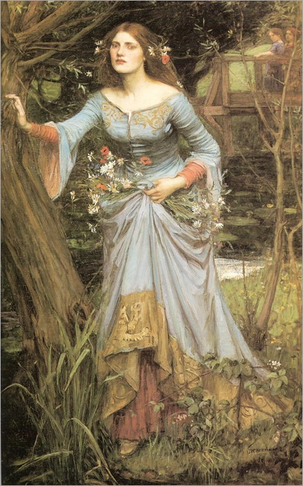 ophelia-1910-J W Waterhouse