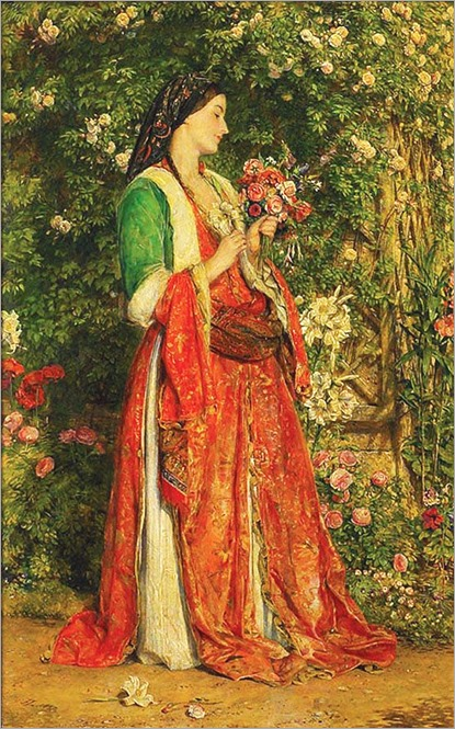 The Bouquet ; John Frederick Lewis; 1857-1946