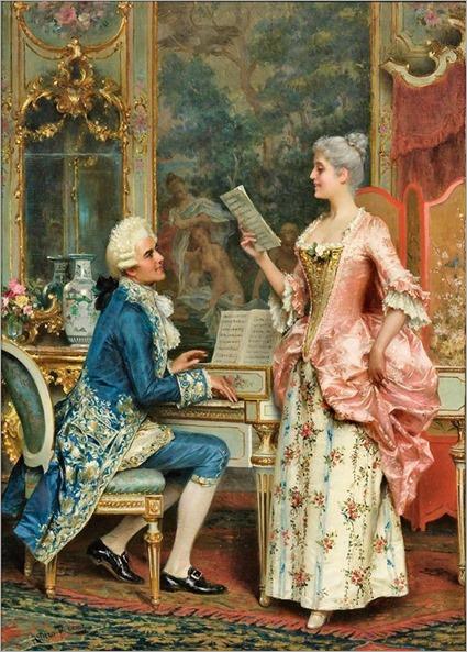 the singing lesson-Arturo Ricci