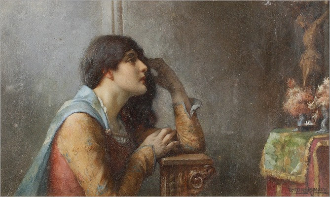 a fervent player_William Arthur Breakspeare - Date unknown