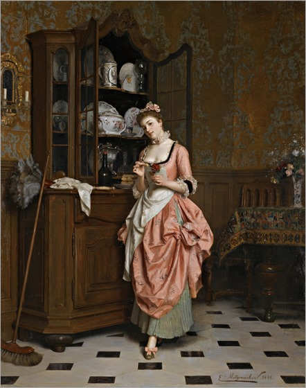 Emile-Pierre_Metzmacher_-_The_Aperitif,_1881