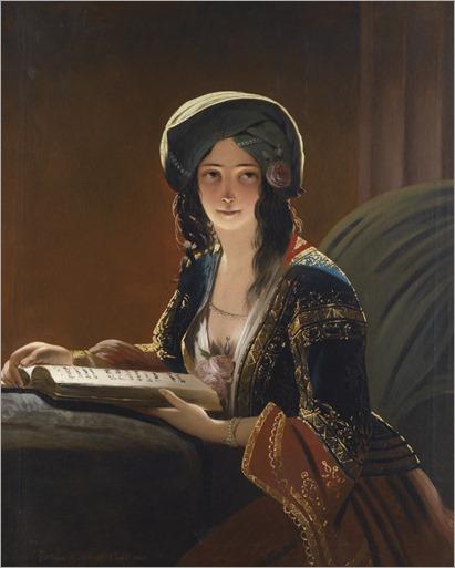 Fatima di Smirne (1843). Ippolito Caffi (Italian, 1809-1866)