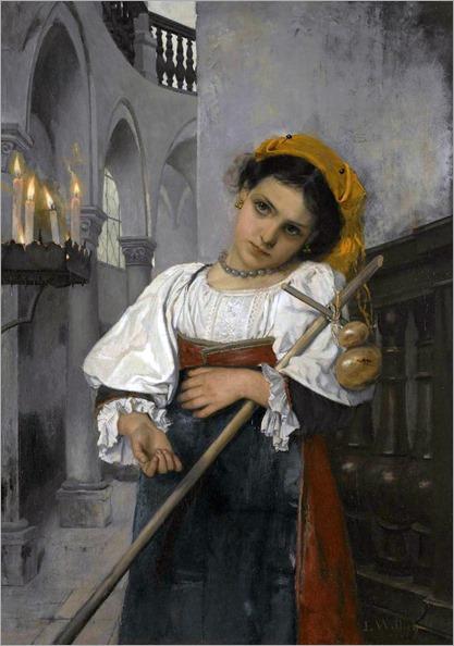 Heinrich Ludwig Wittich(1816-1887)-Daydreams