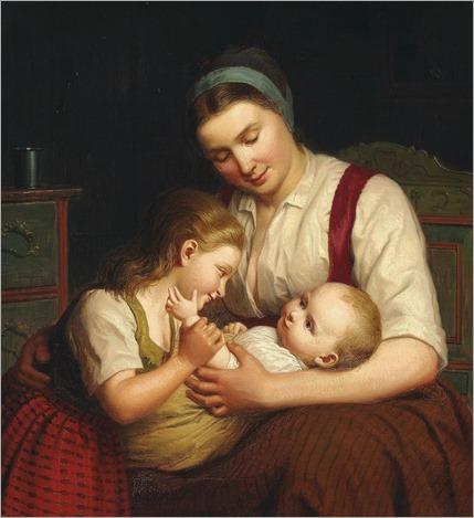 2.JOHANN JULIUS EXNER (DANISH, 1825-1910)