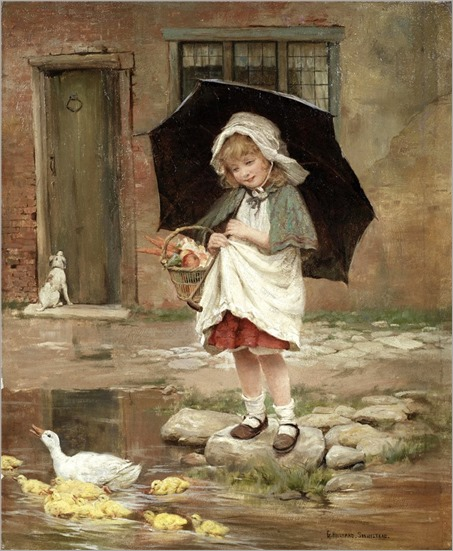 2,GEORGE HILLYARD SWINSTEAD (BRITISH, 1860-1926)