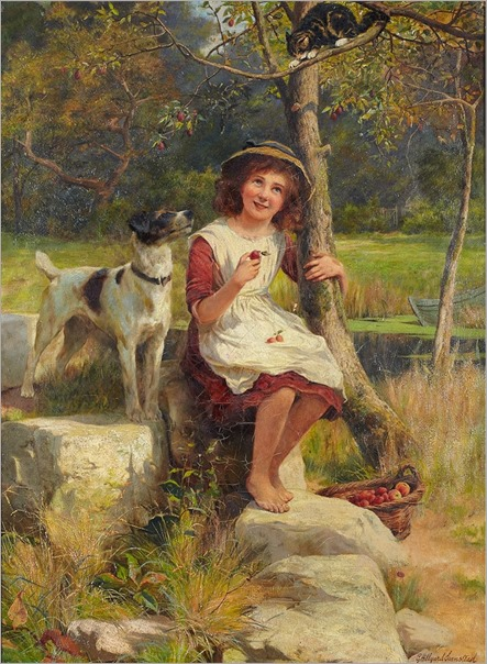 3.GEORGE HILLYARD SWINSTEAD (BRITISH, 1860-1926)