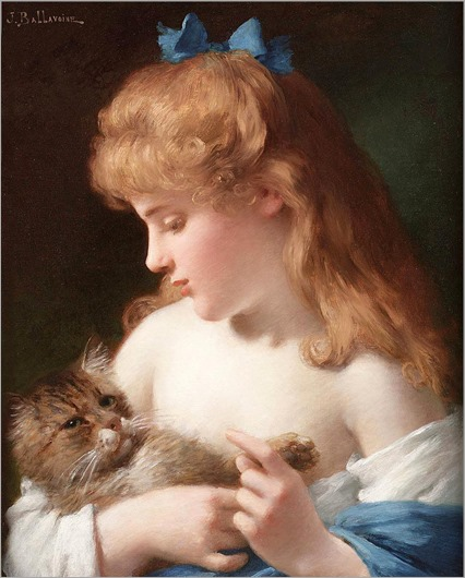 3.JULES FREDERIC BALLAVOINE (french, 1855-1901)