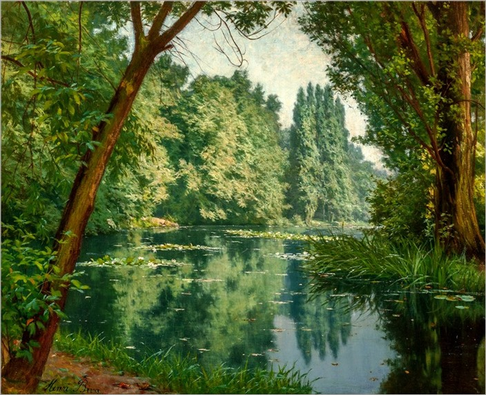 5Henri Biva (french, 1848-1928)