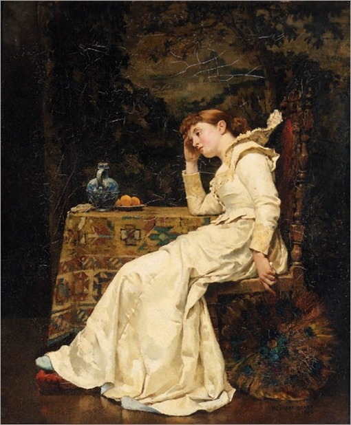 a moment´s reflection_William Arthur Breakspeare - Date unknown