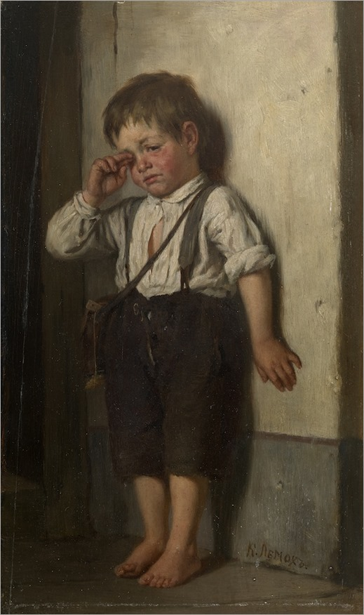 a wretched boy_Karl Lemokh - Date unknown