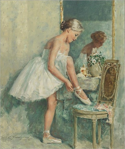Adjustment (1960). Lucien Henri Grandgerard (French, 1880-1970)