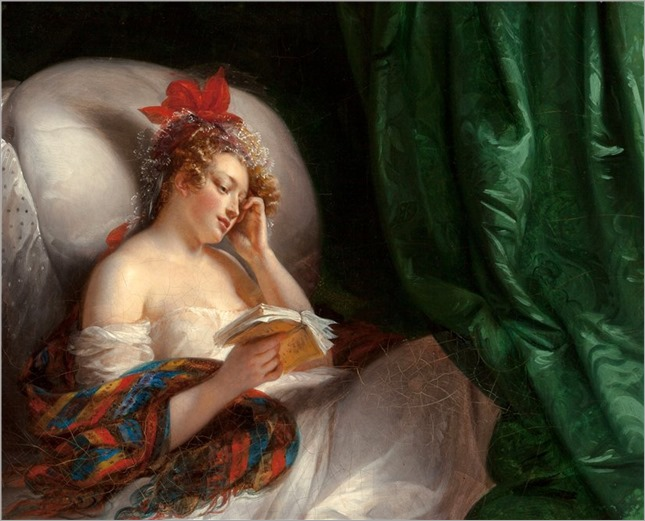 AIMEE PAGES (french, 1803-1866)_la roman