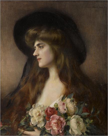 Albert Lynch (1851 - 1912) - Reverie