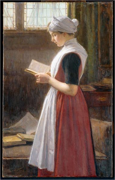 Amsterdams weesmeisje (c.1890-c.1910). Nicolaas van der Waay (Dutch, 1855-1936)