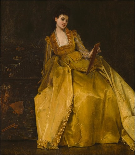 An Admiring Glance-Jules-Adolphe Goupil