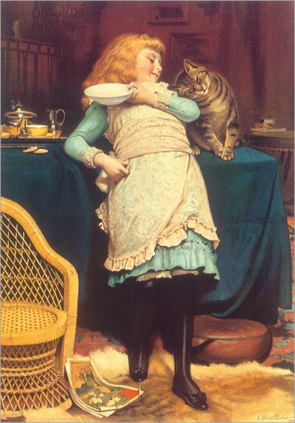 Coaxing Is Better - Charles Burton Barber