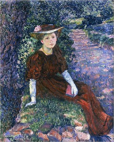 Daisy Weber (1907). Théo (Théophile) van Rysselberghe (Belgian, 1862–1926)