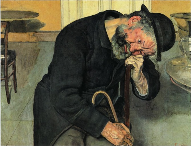 Disappointed Soul - 1889 - Ferdinand Hodler (swiss painter)