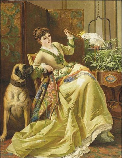 EDWARD CHARLES BARNES (BRITISH,1830-1882)