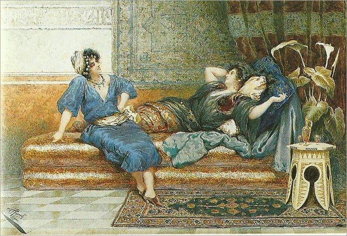 GIUSEPPE AURELI ( Roma 1858 - Anzio 1929 )