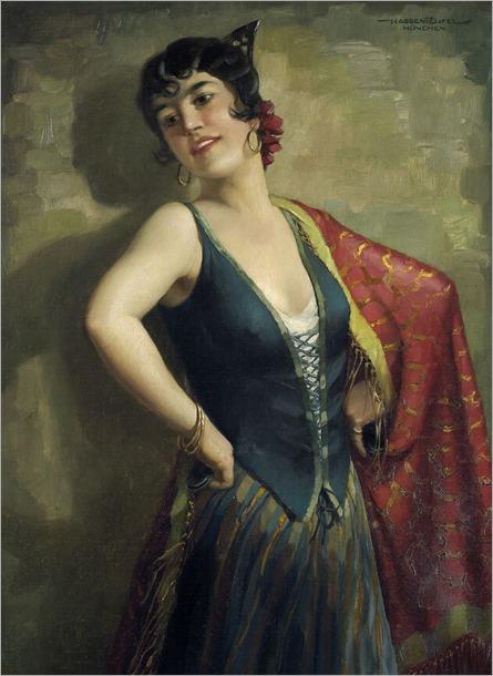 Hassenteufel, Hans -Spanische Tanzerin