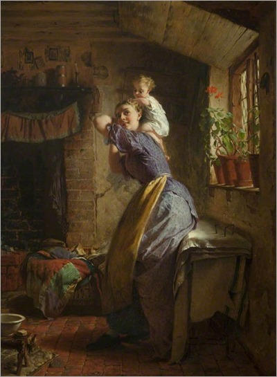 Hicks_The_Happy_Mother_1866_Grundy_Art_Gallery